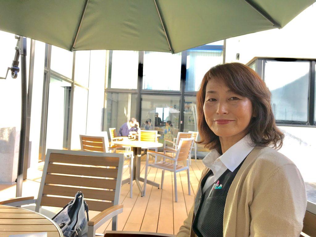 新富町商工会女性部 部長 広瀬美智子さん
