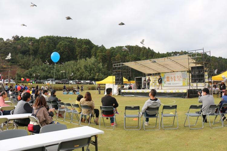 :楽縁祭:使用予定画像:飛んでいるハトS.jpg